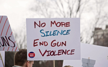 According to Giffords Law Center to Prevent Gun Violence, seven of the ten states with the strongest gun laws have background checks for all gun purchases, and the lowest rates of firearm deaths. (Adobe Stock)