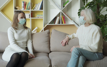 In-person visits will help seniors suffering the effects of isolation brought on by the COVID pandemic lockdown. (Grustock/Adobe Stock)