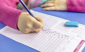 Most American students will take, on average, 112 standardized tests from kindergarten to 12th grade. (Adobe Stock)