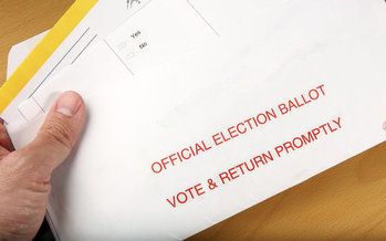 Assembly Bill 321 would make reforms made last year permanent to allow more mail-in voting ahead of the 2020 election. (Svanblar/iStockphoto)