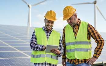 The Biden administration's American Jobs Plan would invest in creating good-paying, clean-energy jobs in Pennsylvania. (Sabrina/Adobe Stock)