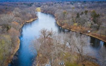 The Milwaukee River Basin covers nearly 900 square miles across seven Wisconsin counties. (Adobe Stock)