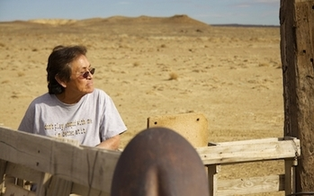 Gas wasted by extraction companies on Navajo lands is more than double the national average and could meet the usage needs of every home on the Navajo Nation for five months, according to the Environmental Defense Fund. (bobbymagill/climatecentral.org)