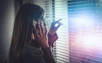 Domestic-violence hotlines are a lifeline for victims seeking safety and support. <br />(AdobeStock)