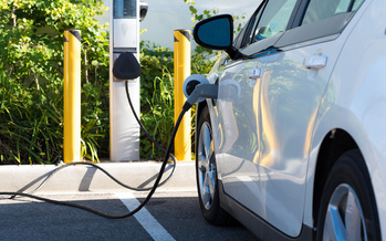 Ann Arbor is committing to a target of carbon neutrality within the next decade. The city currently has 135 electric-vehicle charging stations, including two that are free of charge. (Michael Flippo/Adobe Stock)