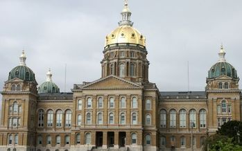At Iowa's Capitol this year, election law changes were one of the more contentious issues to be considered by lawmakers. (Adobe Stock)