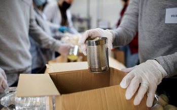 A Greater Boston Food Bank survey found that only one in three adults experiencing food insecurity in Massachusetts is getting food from charitable sites, like food pantries. (Adobe Stock)