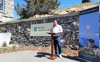 Wild Montana's Executive Director Ben Gabriel announced the organization's new approach at an event in Helena. (Wild Montana)