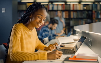 Black student-parents borrow an average of $18,100 for college, compared with an average of $13,500 among all students, according to the Institute for Women's Policy Research. (Adobe Stock)