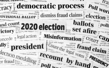 At least four of the eleven California election officials interviewed for a new report say they received explicit death threats after the 2020 election. (JJ Gouin/Adobe Stock)