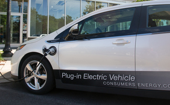 Michigan has 24 public fast-charging EV locations across the state, so drivers on long trips can stop and recharge their vehicle's battery in about 30 minutes. (Consumers Energy)