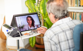 One in four Medicare recipients reported using telehealth services at the peak of the pandemic. (Adobe Stock)