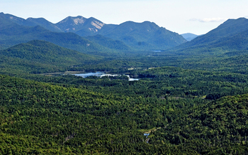 Boreas Ponds, in the town of North Hudson, which will provide recreational opportunities to the public after it transfers to state ownership. � Carl Heilman II<br />