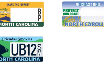 Redesign of NC specialty plates to address readability concerns