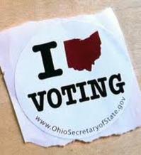 image: Ohio voting sticker