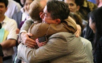 Doak Bloss and Gerardo Ascheri     photo credit: ACLU Michigan