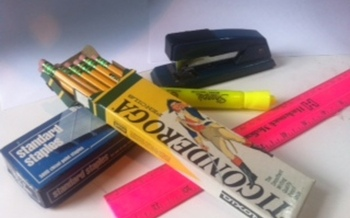 PHOTO: School supplies. Photo credit: Mark Scheerer