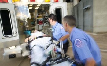PHOTO: Ambulance crew. CREDIT: American Heart Association