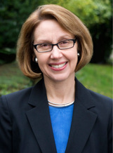 PHOTO: Ellen Rosenblum spoke at the PSJ statewide gathering.