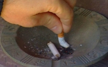PHOTO: Cigarette butt. CREDIT: Courtesy of the American Cancer Society