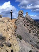 PHOTO: Chimney Rock National Park. Photo credit: Ryan Bidwell.