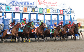 PHOTO: Aqueduct Racetrack, the focus of Gov. Cuomo's task force investigation. Courtesy NYRA