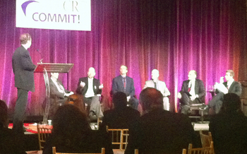 PHOTO: Panel Discussion at Commit!Forum2012, October 3rd in New York City. Courtesy: Mark Scheerer