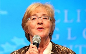 Photo: Picture of Maude Barlow. Courtesy Food and Water Watch