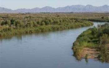 Colorado River near Yuma. Photo Credit: California Blog