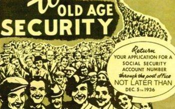 1936 Social Security poster   Courtesy of: usa.gov