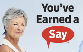 PHOTO: You've Earned a Say