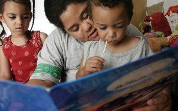 photo of children reading   Courtesy of: LSSI  Photo Credit: Amanda Whitlock