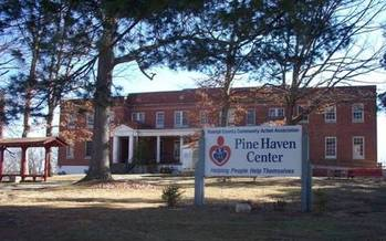 RCCAA's Pine Haven shelter. Photo courtesy of RCCAA.