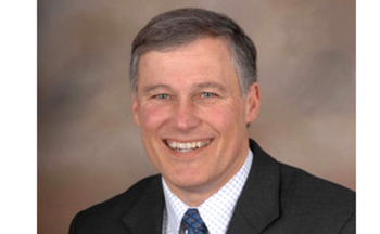 PHOTO: Apparent Governor-elect, Jay Inslee, has begun assembling his transition team.