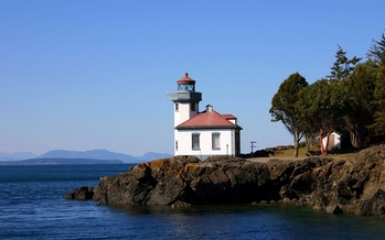 PHOTO: The Bureau of Land Management manages several parcels of land on the San Juan Islands, including three historic lighthouses. There's a proposal to designate these areas as a national monument. Photo credit: Inferno/FeaturePics.com