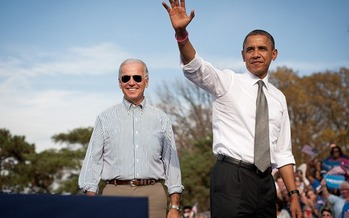 Photo: President Barack Obama and Vice President Joe Biden. Courtesy of Barack Obama for President