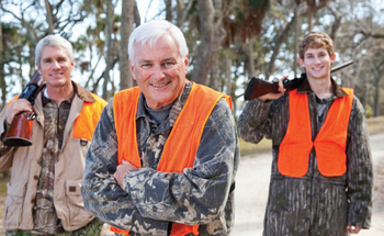 PHOTO: Hunters are being encouraged to be 'heart smart' as they hit the fields and woods for the upcoming firearms deer season. Photo courtesy of the American Heart Association.