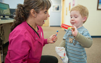 PHOTO: Cavity Free at 3 program, Fort Collins. Courtesy Cavity Free at 3.