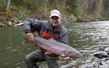 PHOTO: Simms Fishing Productions President K.C. Walsh supports Senator Jon Tester's Sportsmen's Act of 2012, which is seeing fast action in the U.S. Senate this week. Photo courtesy of K.C. Walsh.