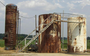 PHOTO: Picture of Morrow County injection well. Courtesy Donna Carver.