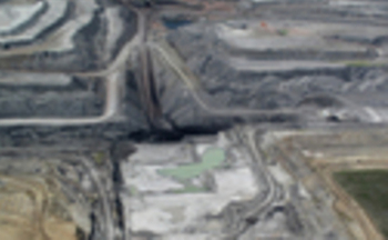 PHOTO: The Black Thunder coal mine is located in the Powder River Basin. Photo courtesy of Ecoflight.