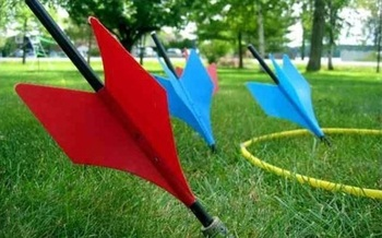PHOTO: Lawn darts made the list of the