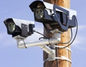 Photo: License plate reader camera. Courtesy: ACLU of NC