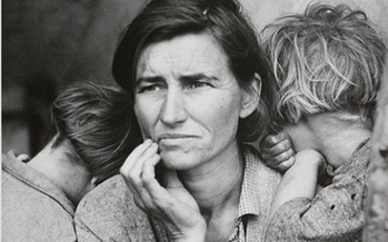 A recent drop in the US birthrate, led by immigrant women, has sparked debate over America's commitment to motherhood. Dorothea Lange photo courtesy National Media Museum