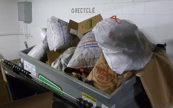 PHOTO: When it comes to generating garbage, the holidays are the busiest time of year for Minnesotans, but there are ways to reduce, reuse and recycle. CREDIT: John Michaelson