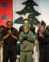 Photo: Parent Pride Night at Henderson Collegiate Charter School. Courtesy: Henderson Collegiate