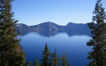 PHOTO: Crater Lake as seen from the Cleetwood Trail. Courtesy of National Park Service.