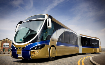 Photo: Rapid Transit Vehicle, Courtesy: Indy Connect