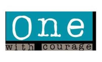 The One With Courage campaign kicks off this week in West Virginia. Logo courtesy of the West Virginia Child Advocacy Network.