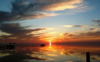 Photo: Sunset North Carolina coast. Courtesy: Kitty McGarth, North Carolina Coastal Federation